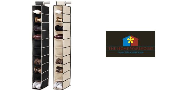 Organiza tu cl set con moderna zapatera en canvas de 10 for Zapateras modernas para closet
