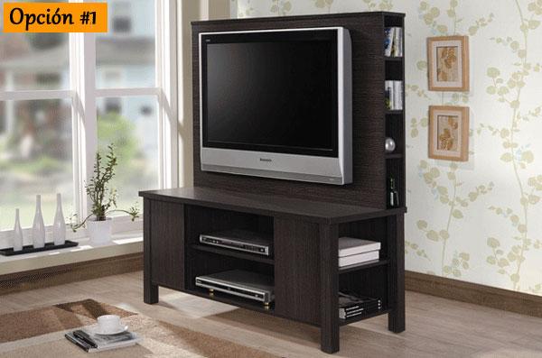 Renueva tu hogar mueble de t v en varios tama os a for Renueva tu hogar