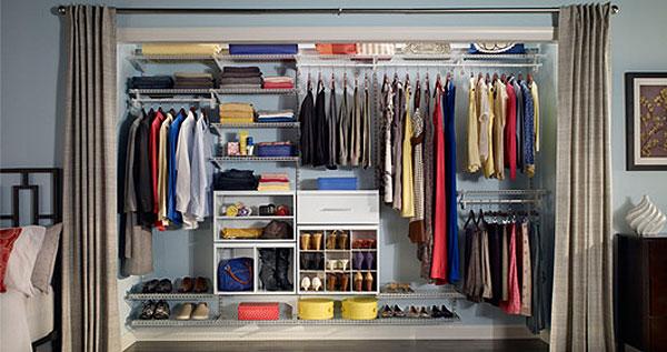 Desde 119 por organizador de madera o metal closetmaid for Organizadores para closet