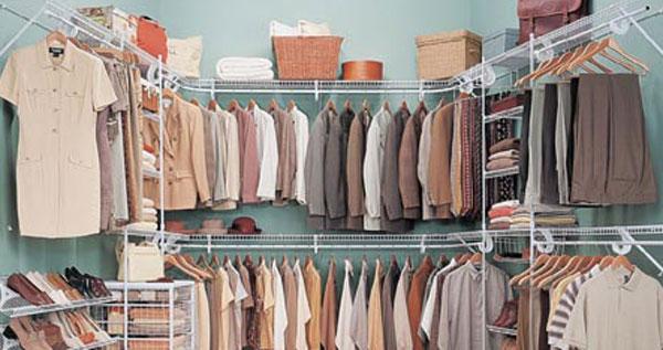 Organizador para walk in closet con hasta 40 pies de for Organizadores para closet